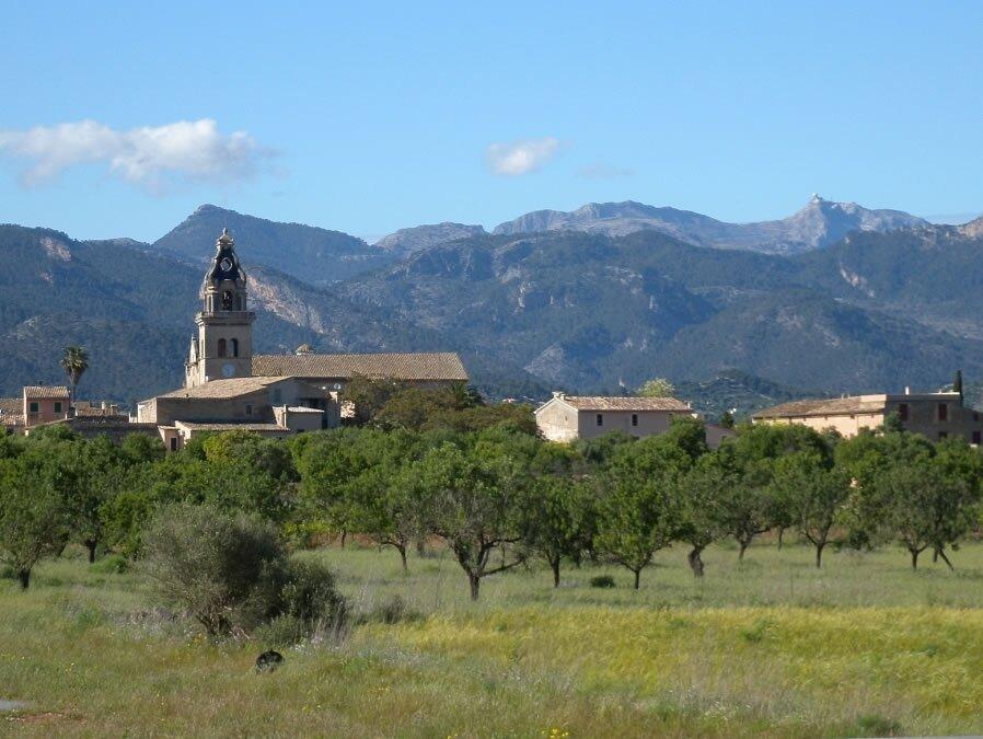 A photo of Santa Maria del Cami