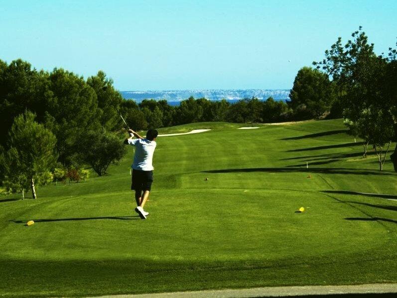 Son Quint Golf Course, Palma de Mallorca green