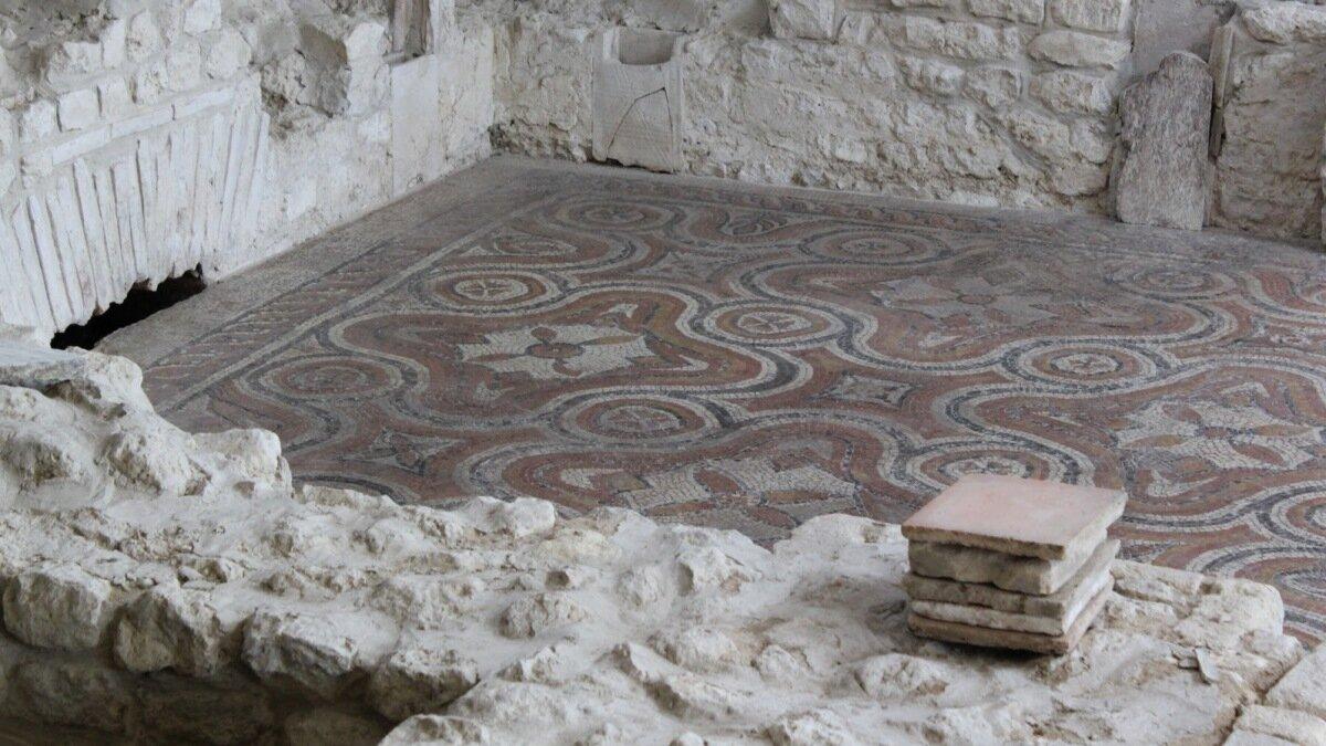 Roman Ruins Dordogne