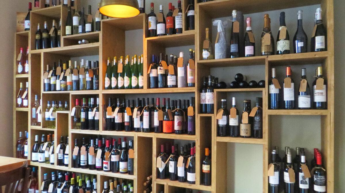 bottles of wine in Wine Industry in santa Catalina mallorca