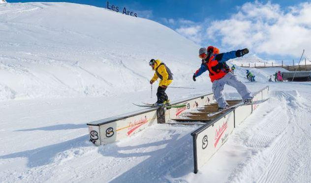 Snowparks Les Arcs