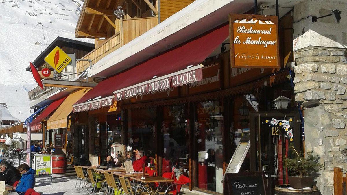 La Montagne Restaurant & Creperie, Tignes Le Lac / Le Lavachet exterior