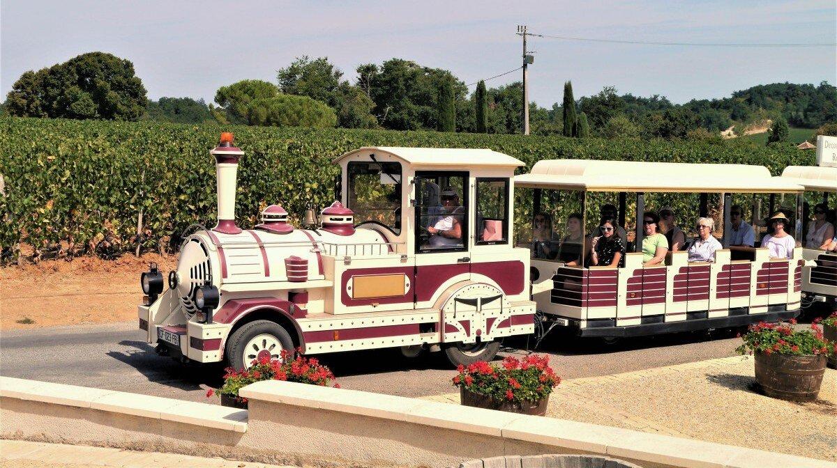 the petit train of st emilion - train des grands vignobles