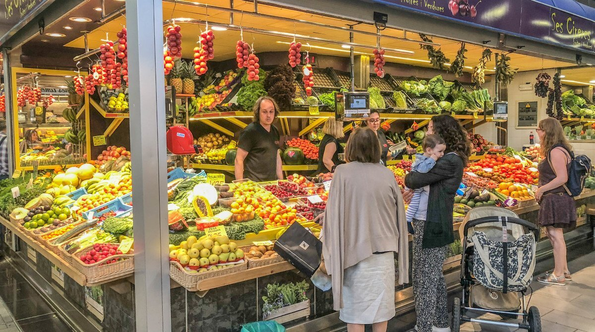 Olivar Market, Palma de Mallorca