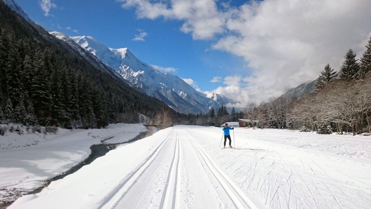 Cross-country Skiing Chamonix