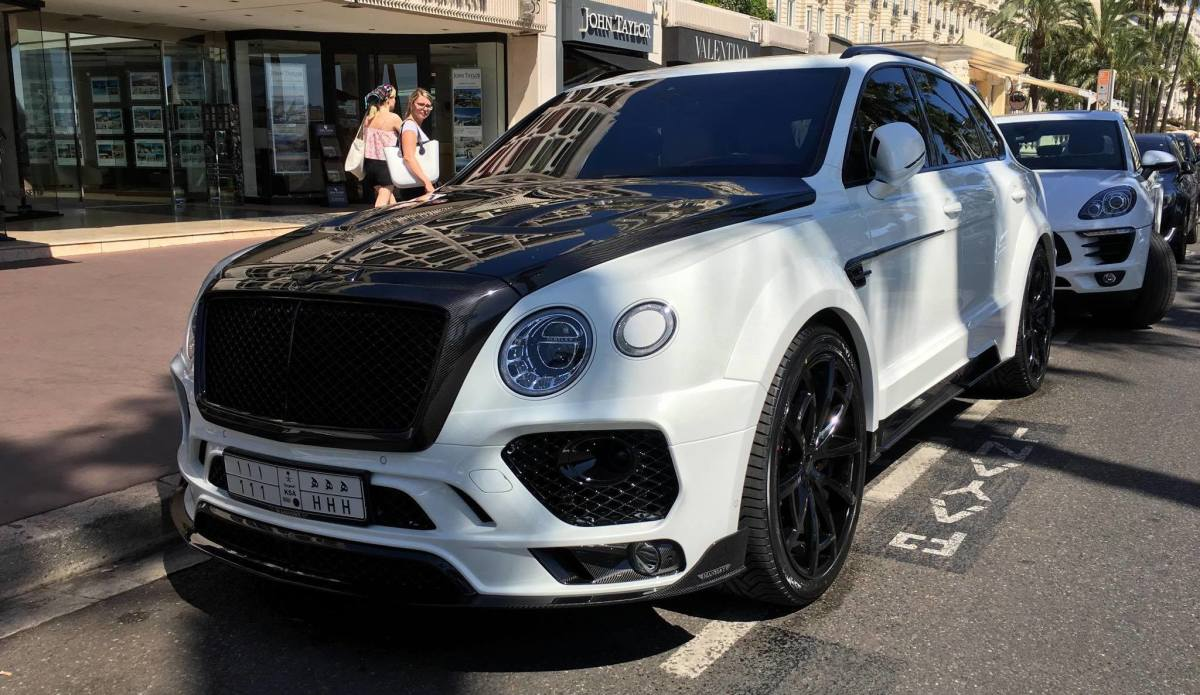 First Mansory Bentley Bentayga Spotted In Cannes Seecannes Com