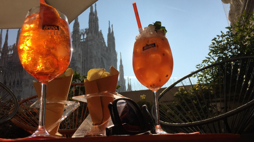Terrazza Aperol Bar Historic Centre Of Milan Seemilan Com