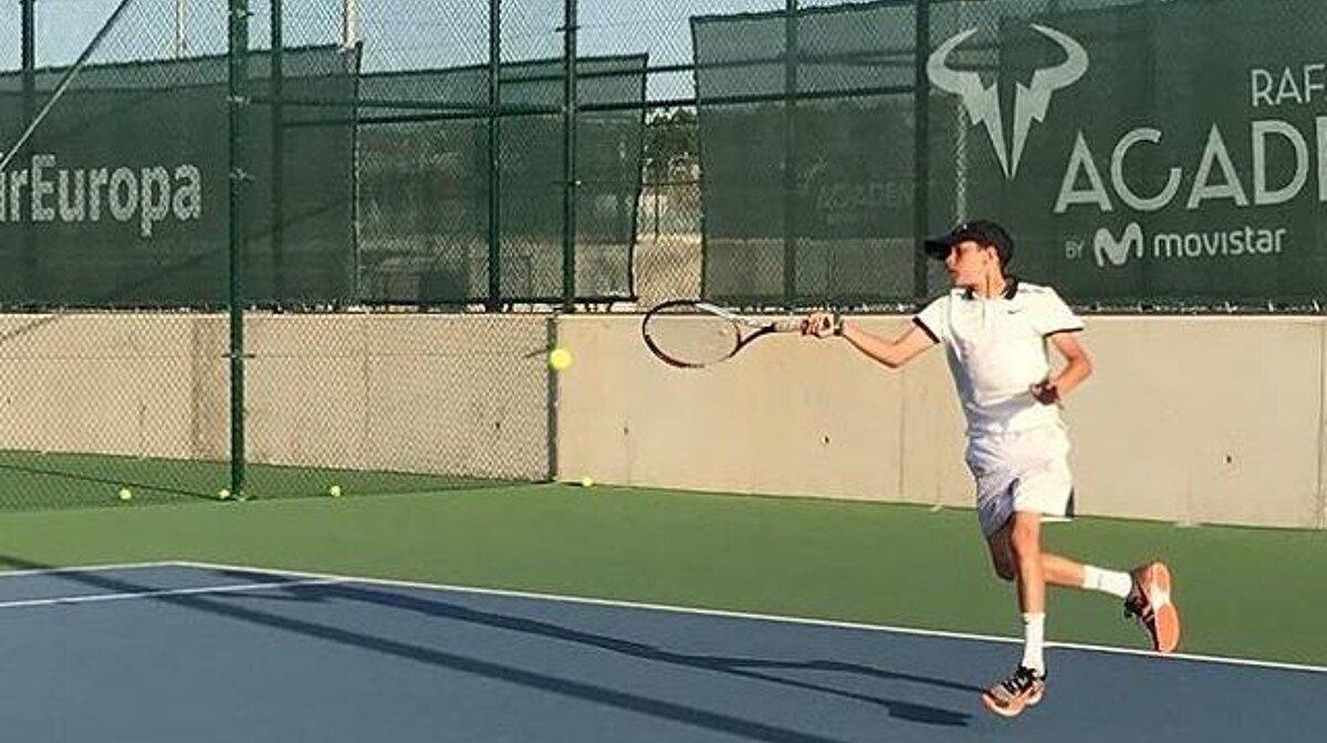Romeo Beckham At Rafa Nadal Academy In Manacor Seemallorca Com