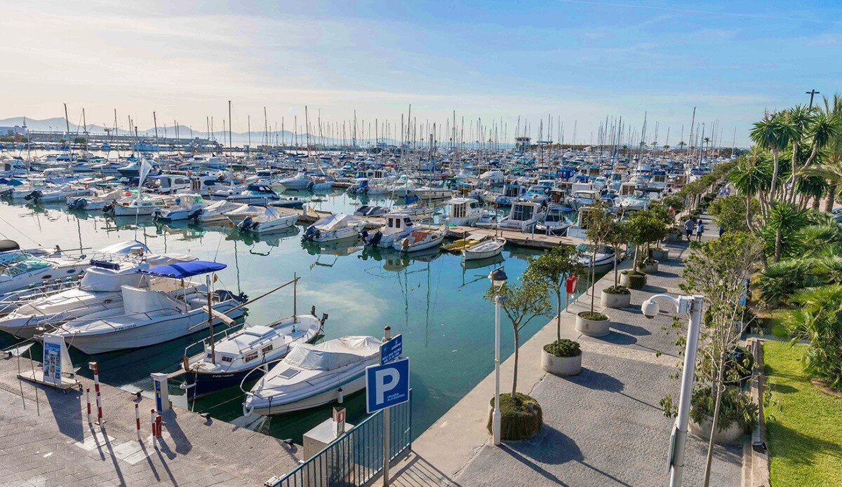 Port de Alcudiamar Marina, Port d'Alcudia