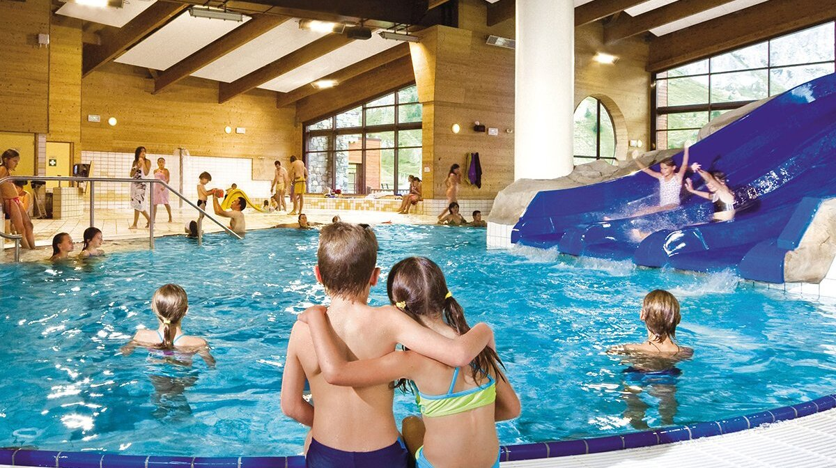 a children's seimming pool in tignes