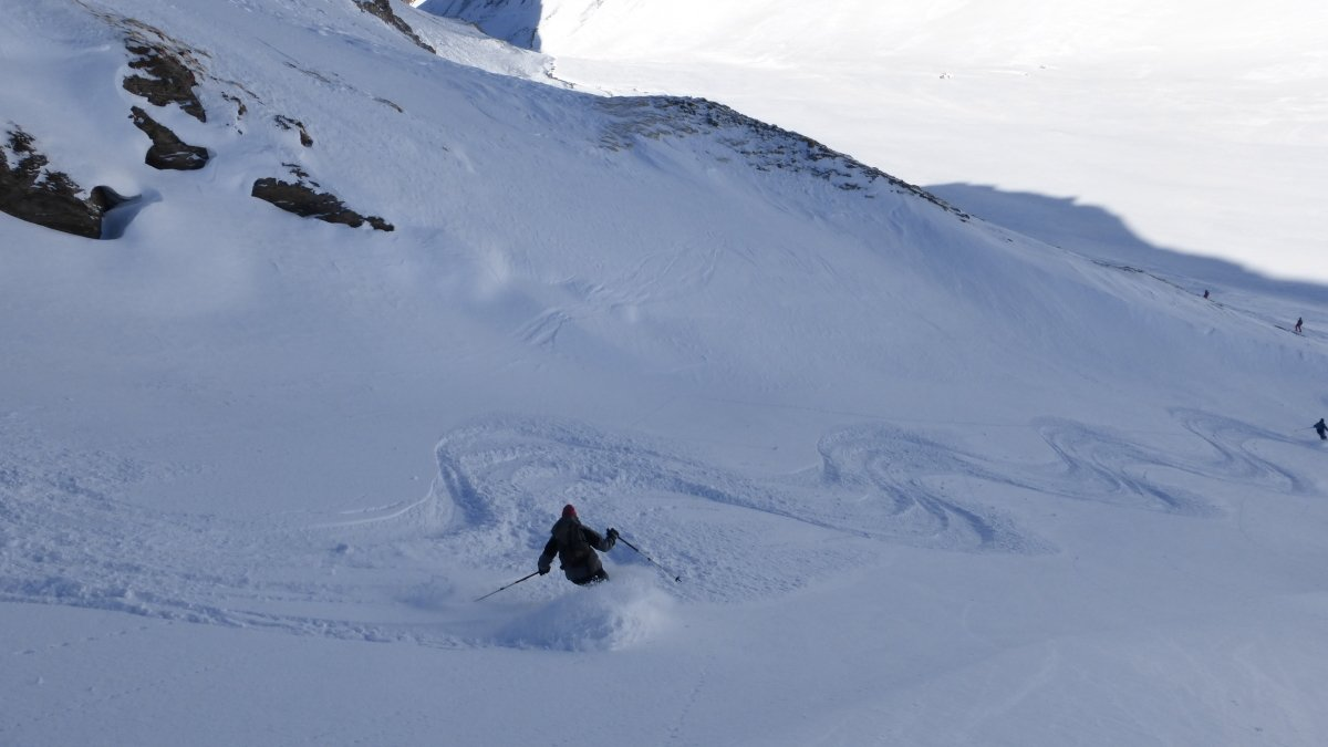 Off-piste Areas Val d'Isere