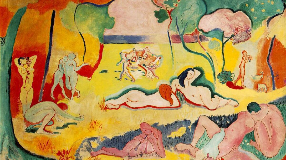 a painting by matisse