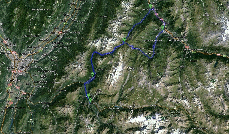 Cycling Routes Alpe d'Huez