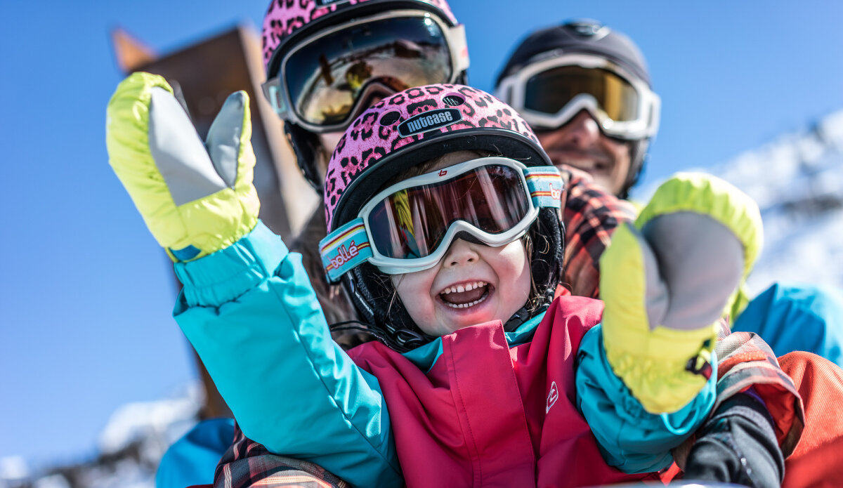Why Les Arcs is great for families this winter 2018/19