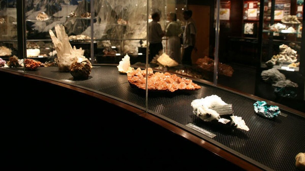a crystal museum in chamonix