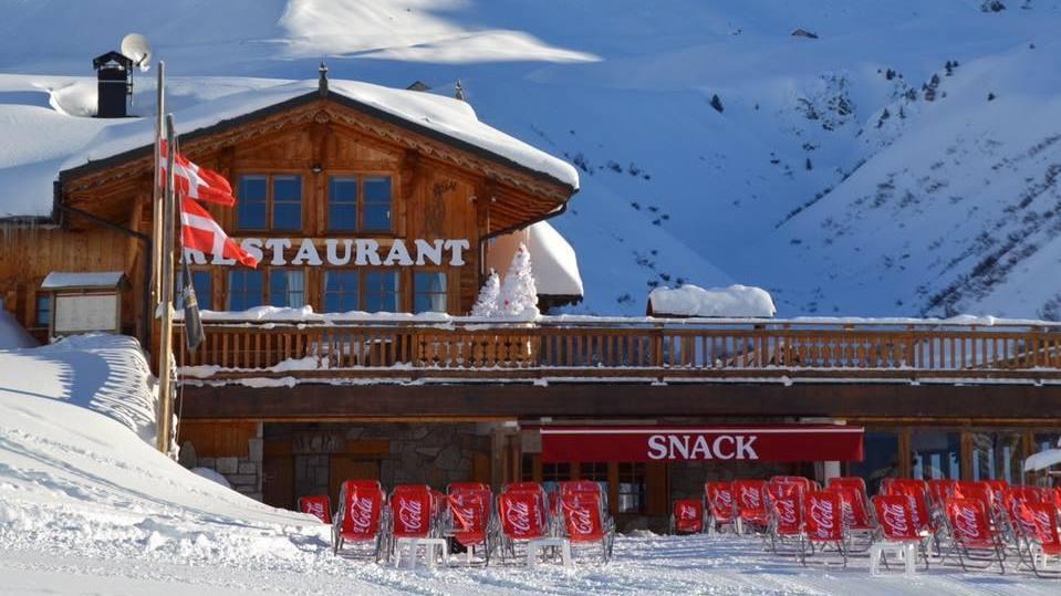 Chalet des Verdons Sud Restaurant, Champagny exterior