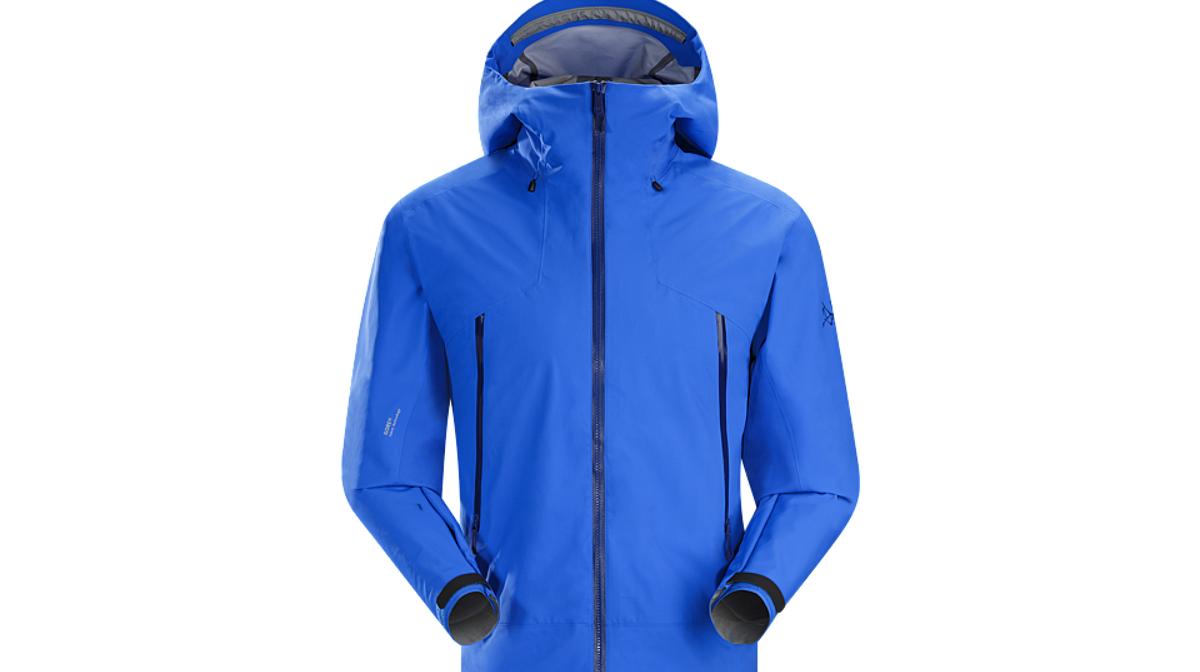 a blue mountain jacket