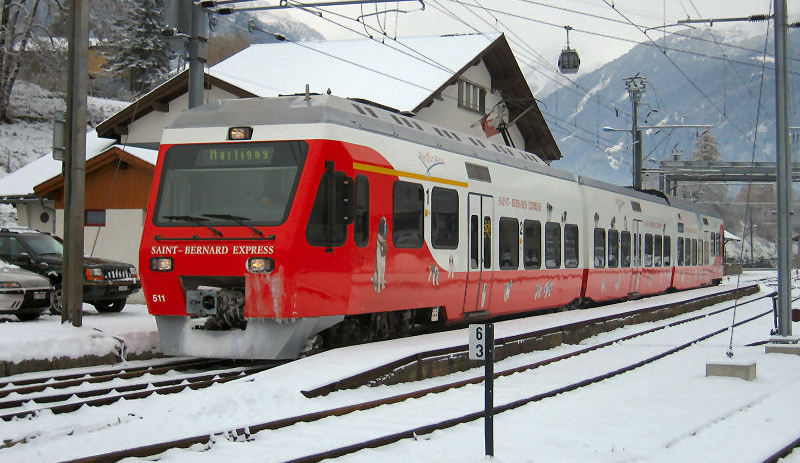 Train Services Verbier