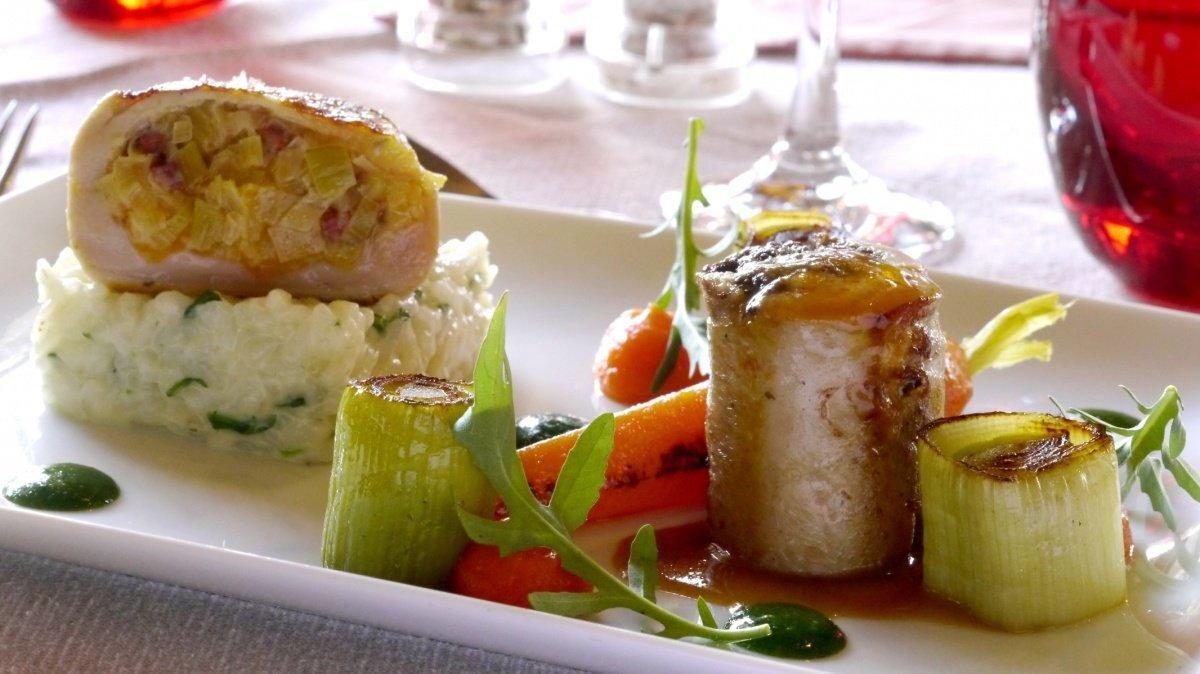 Chamois d'Or Restaurant, Alpe d'Huez main