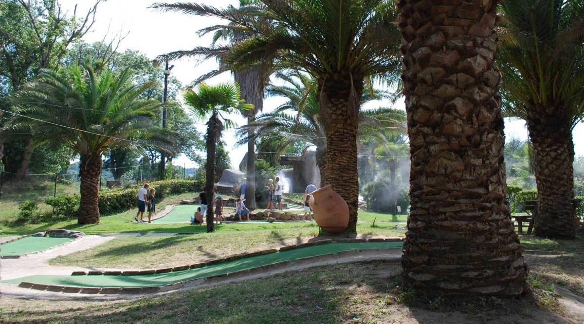 La Palmeraie Mini Golf, Cogolin