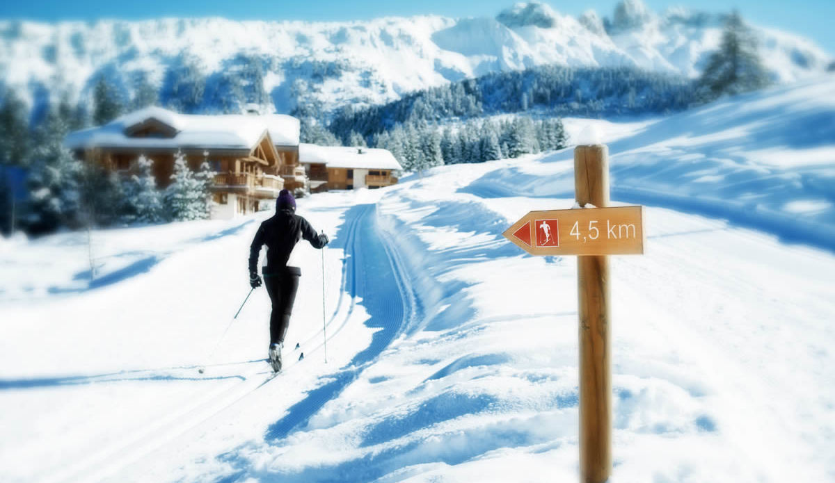 Cross-country Skiing Courchevel