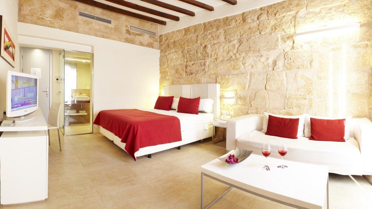 a picture of a hotel suite at Review of Santa Clara Hotel, Palma de Mallorca, Palma Centre & Marina