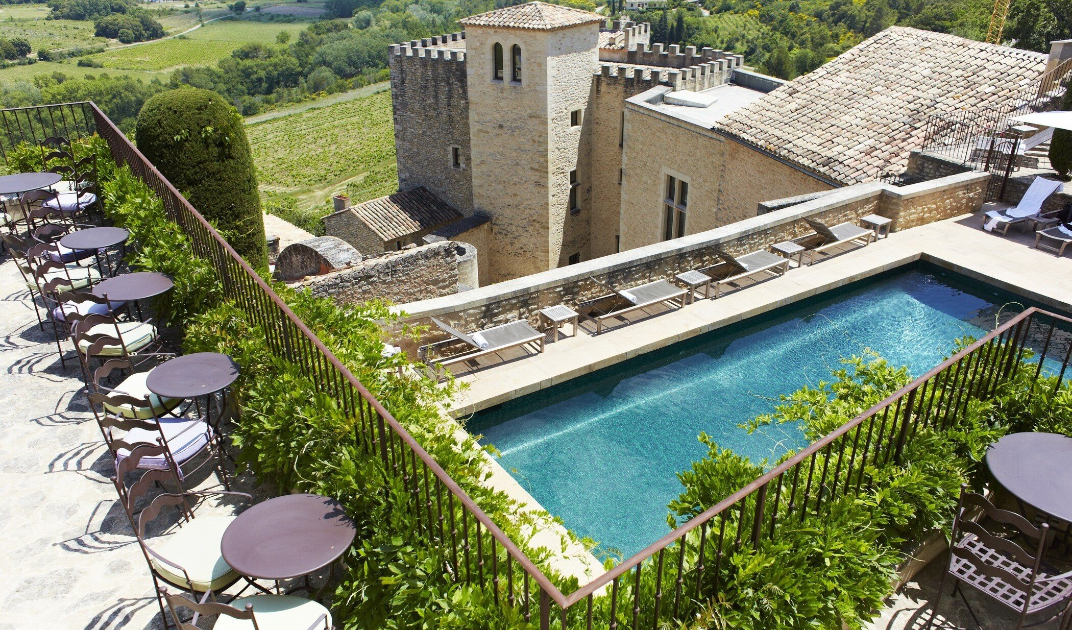 Hotel Crillon le Brave voted 4th in Travellers Choice top hotels indoor swimming pool