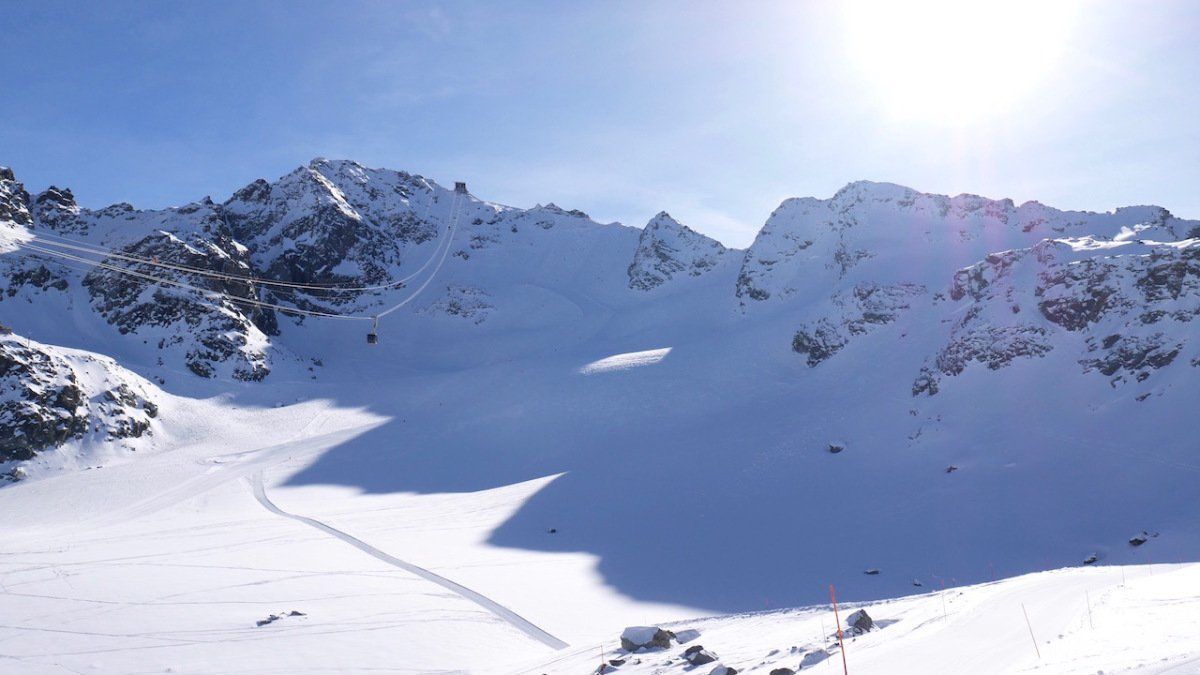 part of the 4 valleys ski area
