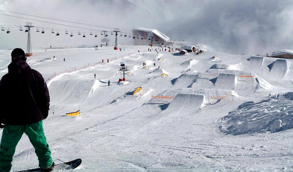 Snowparks Verbier