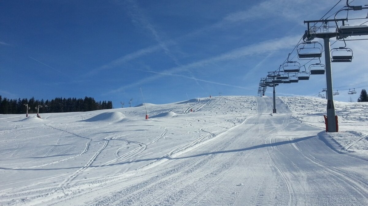 pistes in les gets