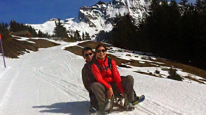 Sledging & Yurt Experience, Chamonix - Centre