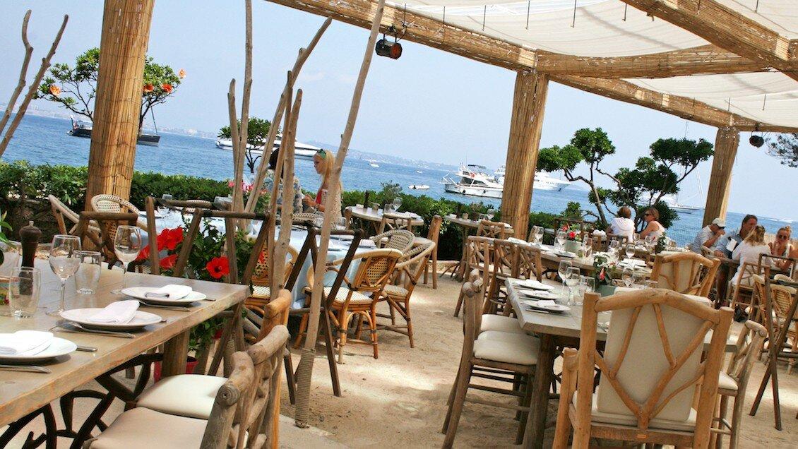 La Guerite, Ile Sainte-Marguerite restaurant terrasse