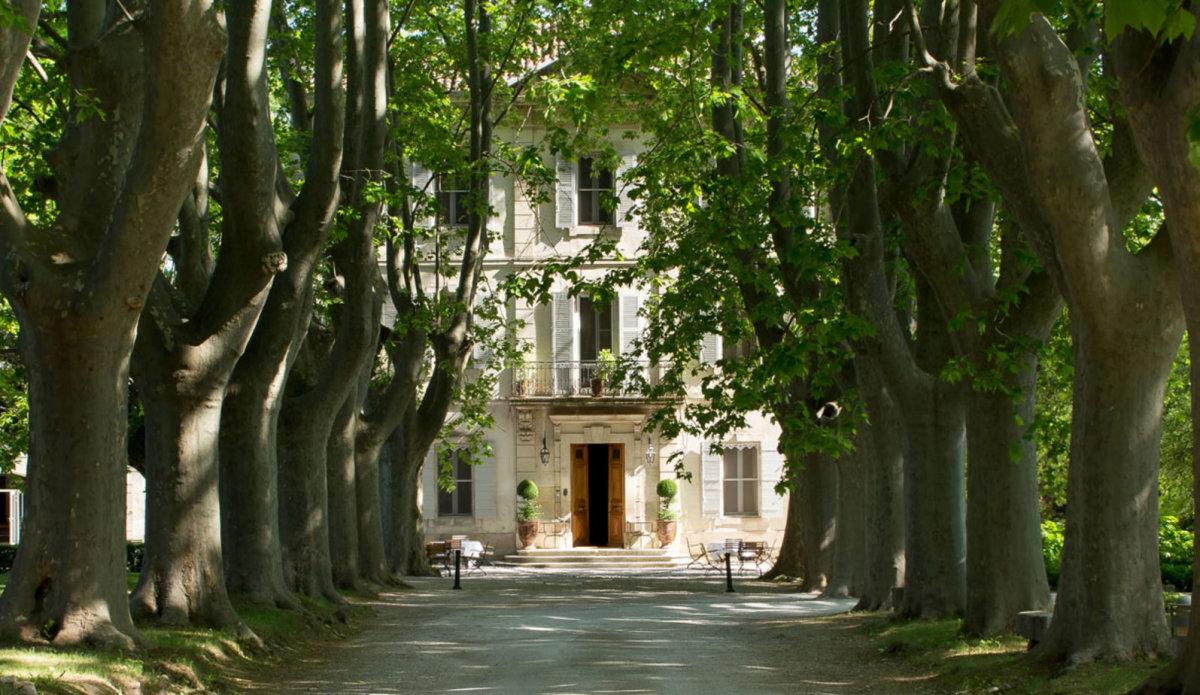 Le Chateau des Alpilles Hotel, St Remy exterior