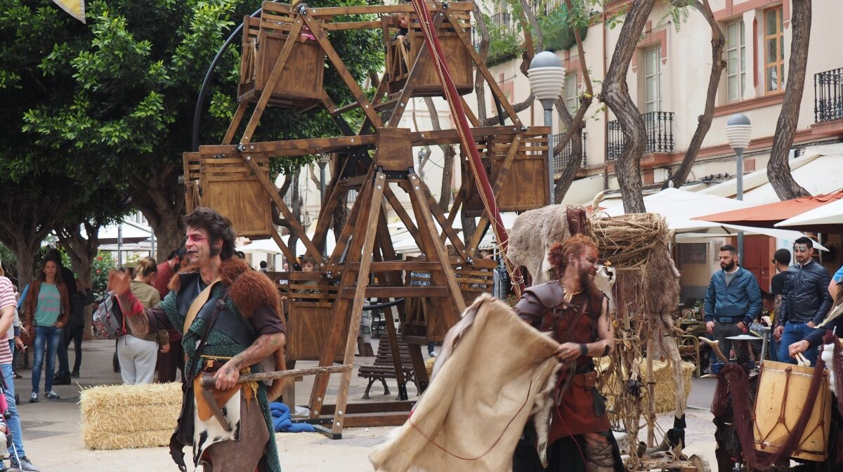 Medieval festival in ibiza town
