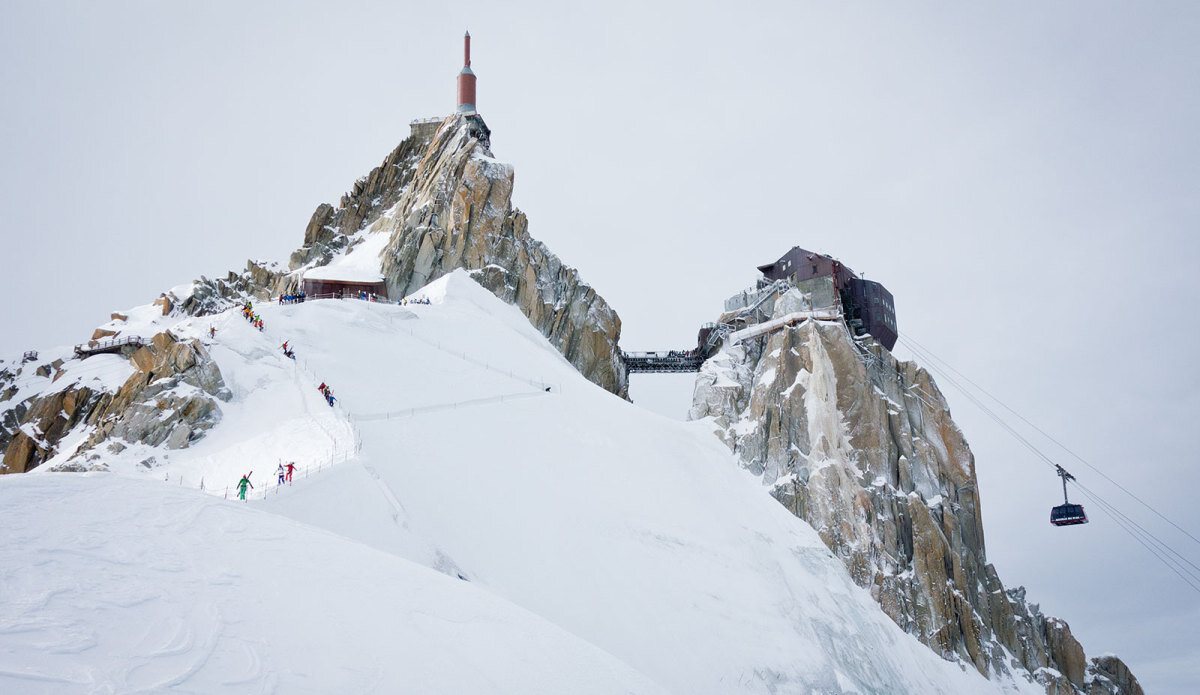 the arete in winter 2016