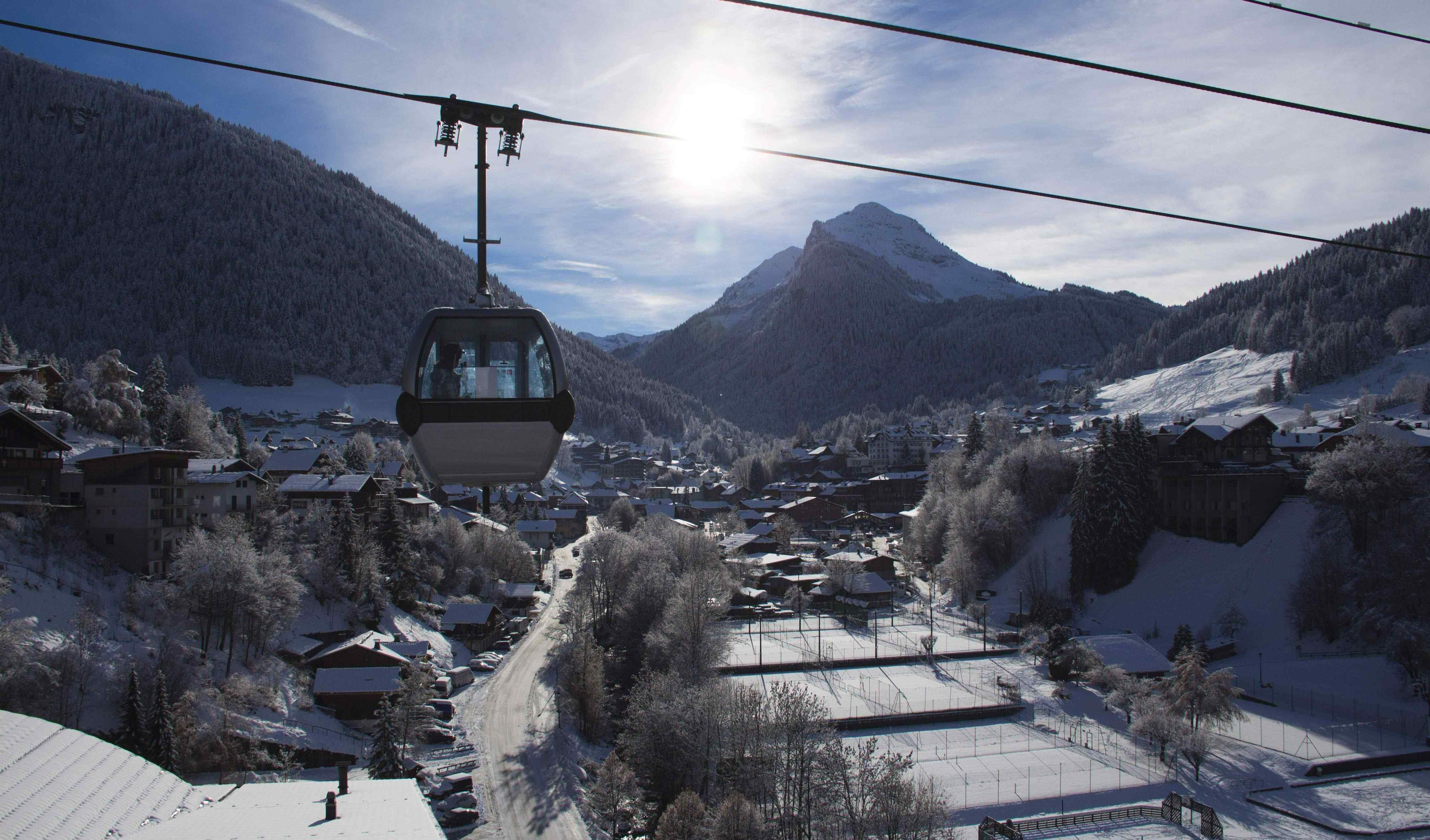 Super Morzine Bubble