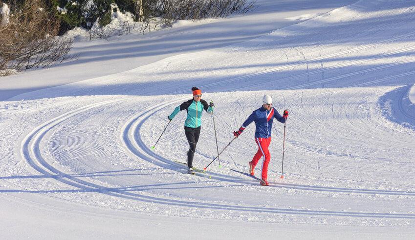 Cross-country Skiing Les Arcs