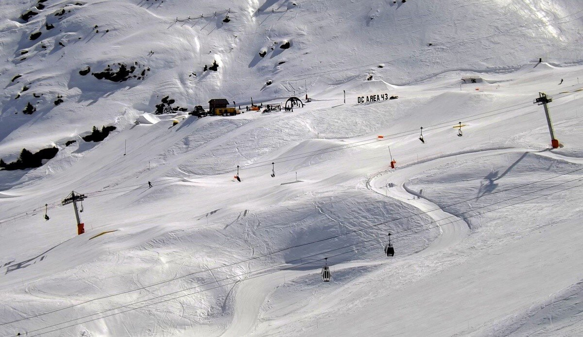 Snowparks Meribel