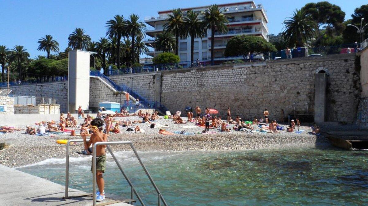 Club Nautique De Nice plage des bains militaires beach, nice   seenice