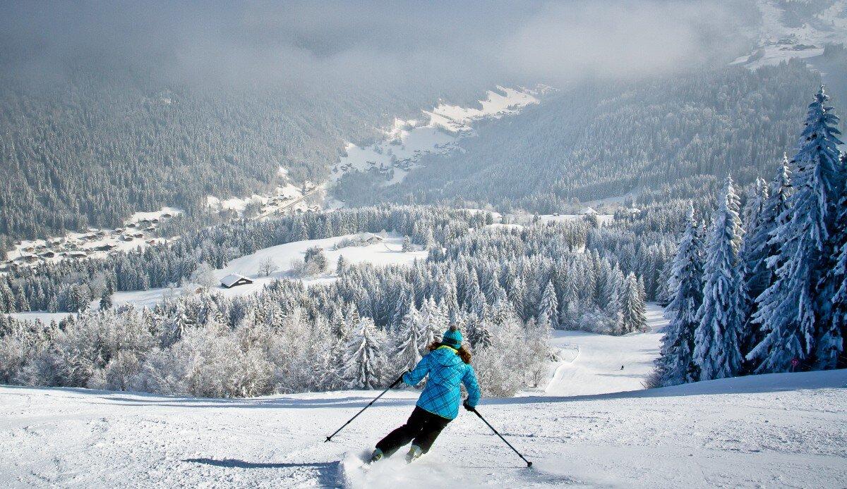 Ski Areas, Pistes & Parks Morzine