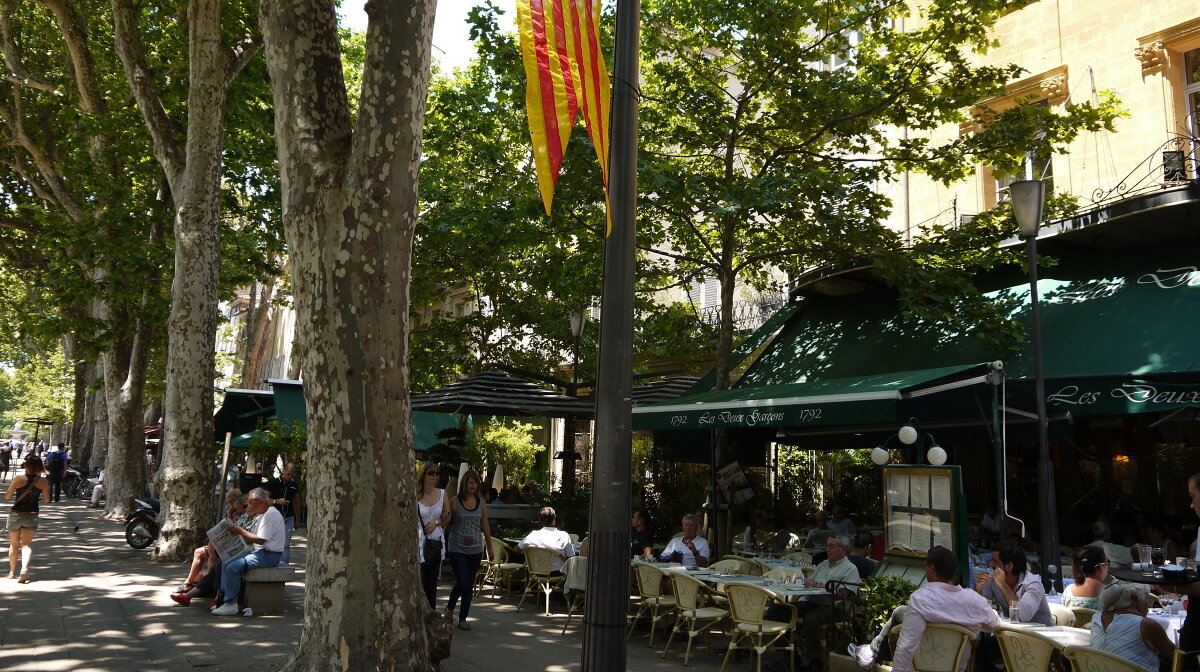 a restaurant in aix en provence centre