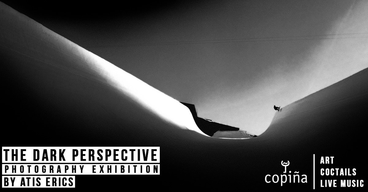 The Dark Perspective - A photography exhibition by Atis Erics at Copiña, Meribel - Centre