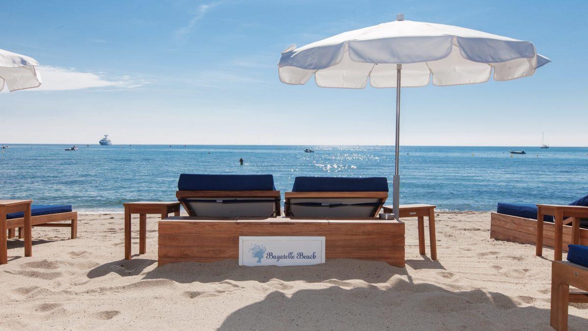 Bagatelle Beach Club, Saint Tropez beach