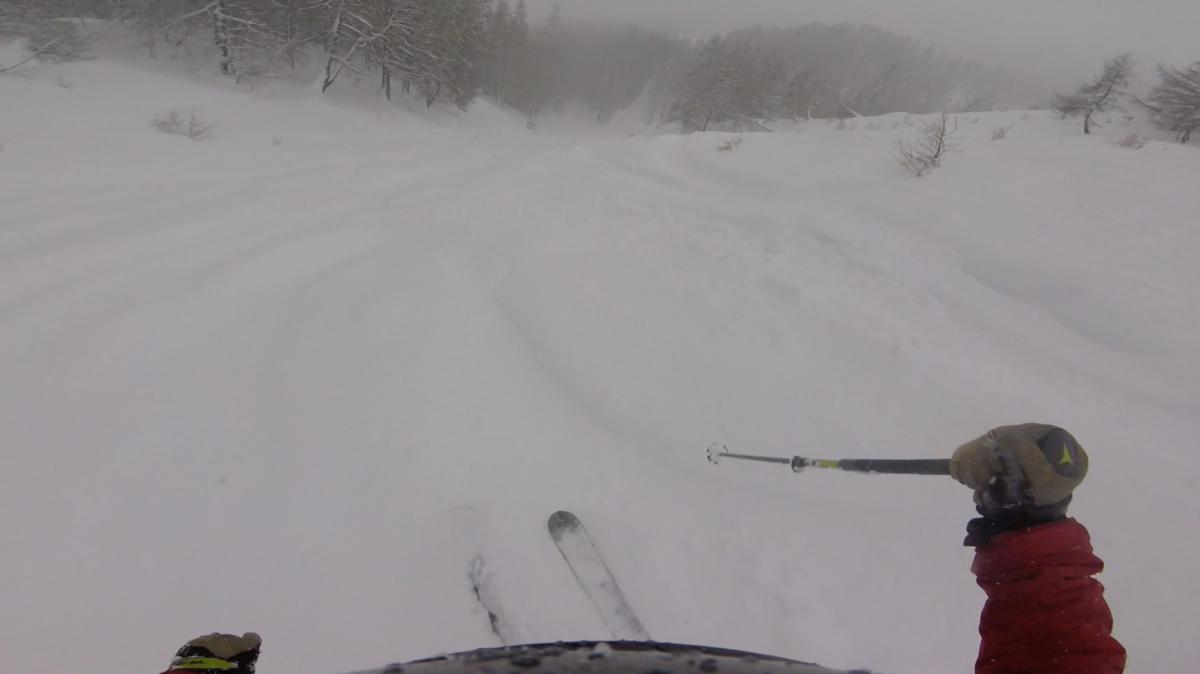 Bad Weather Skiing Tignes