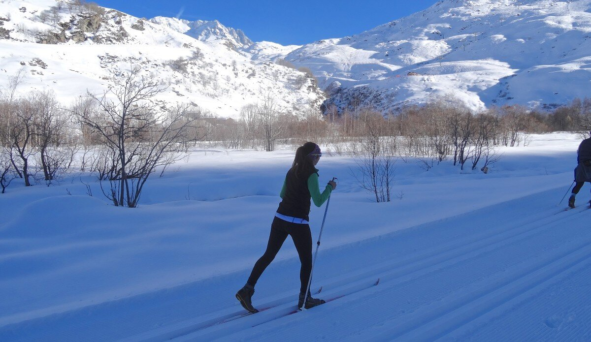 Cross-country Skiing Val Thorens