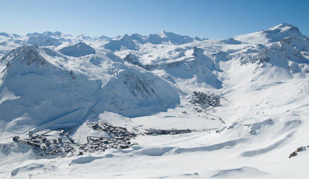 Tignes Ski Area