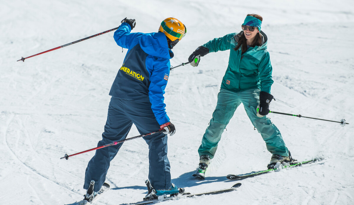 Private Ski Lessons Val Thorens