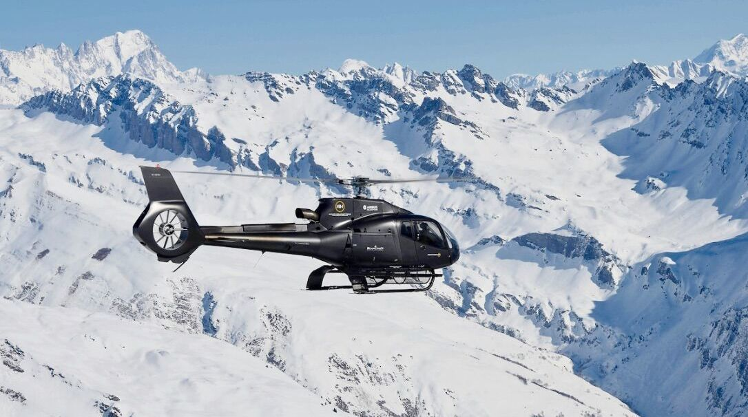 Helicopter Tours, Courchevel Valley