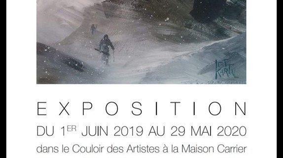 Art Exhibition at La Maison Carrier in the Hameau Albert Premier, Chamonix