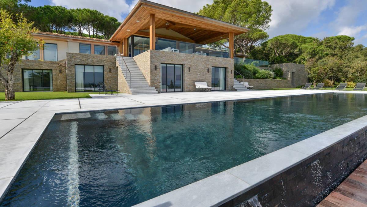 Saint Tropez villas in vogue swimming pool